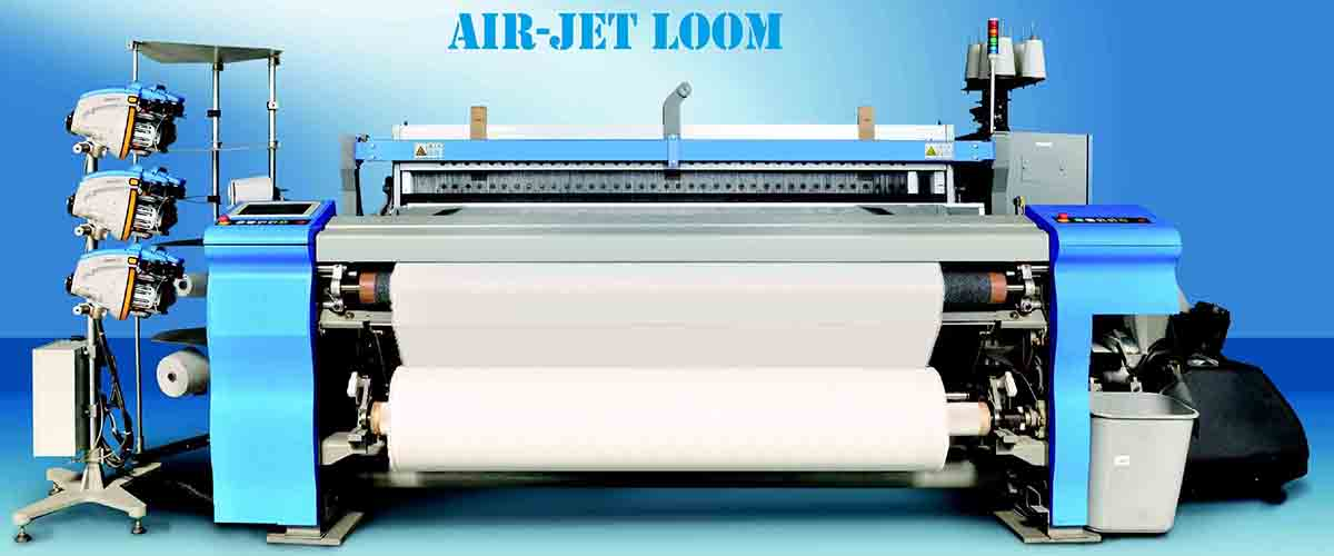 air jet looms